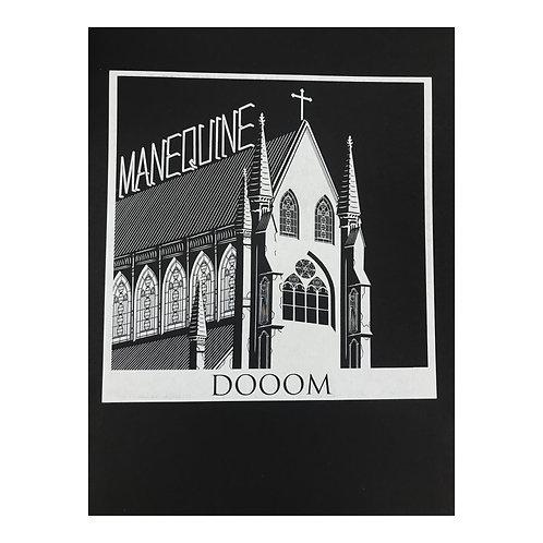Manequine Doom - autorský sítotisk