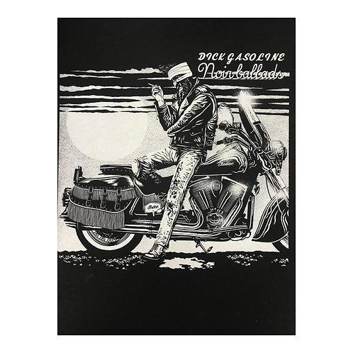 Dick Gasoline - autorský sítotisk