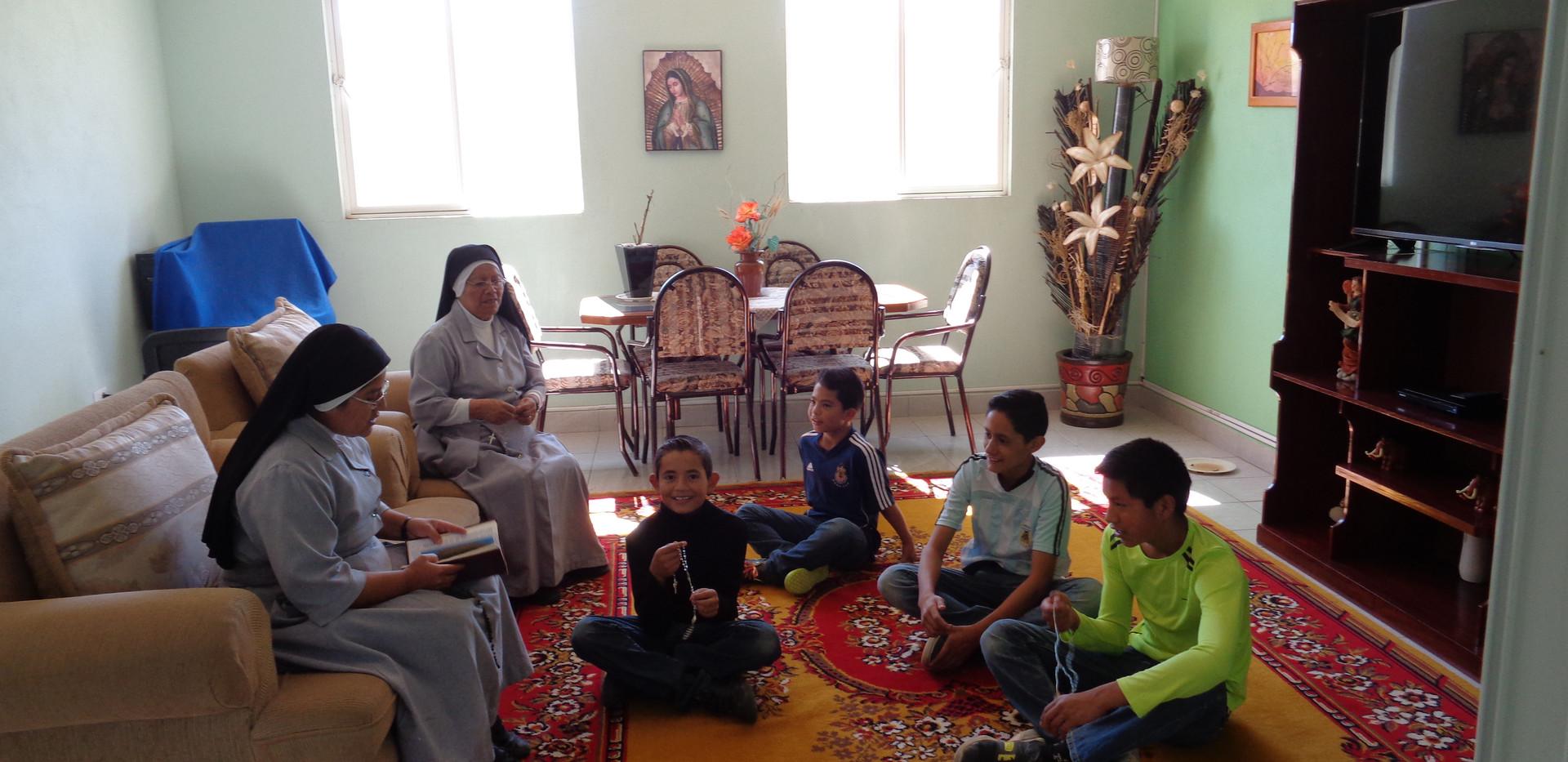 Casa de Adolecentes: San Juan Pablo II