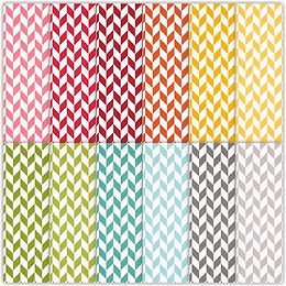 Bright Shine  Houndstooth Papers