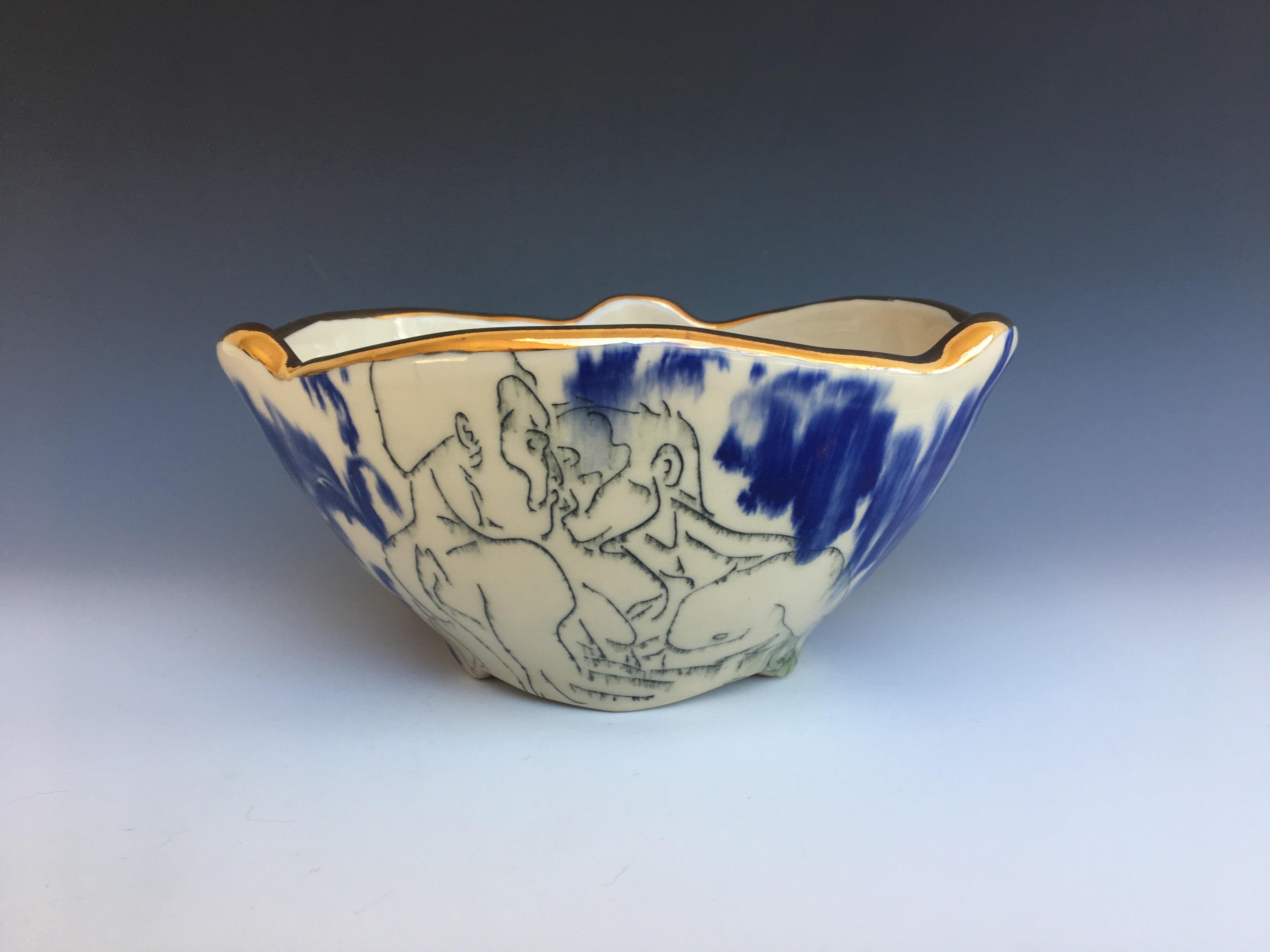 Sexpot Serving Bowl
