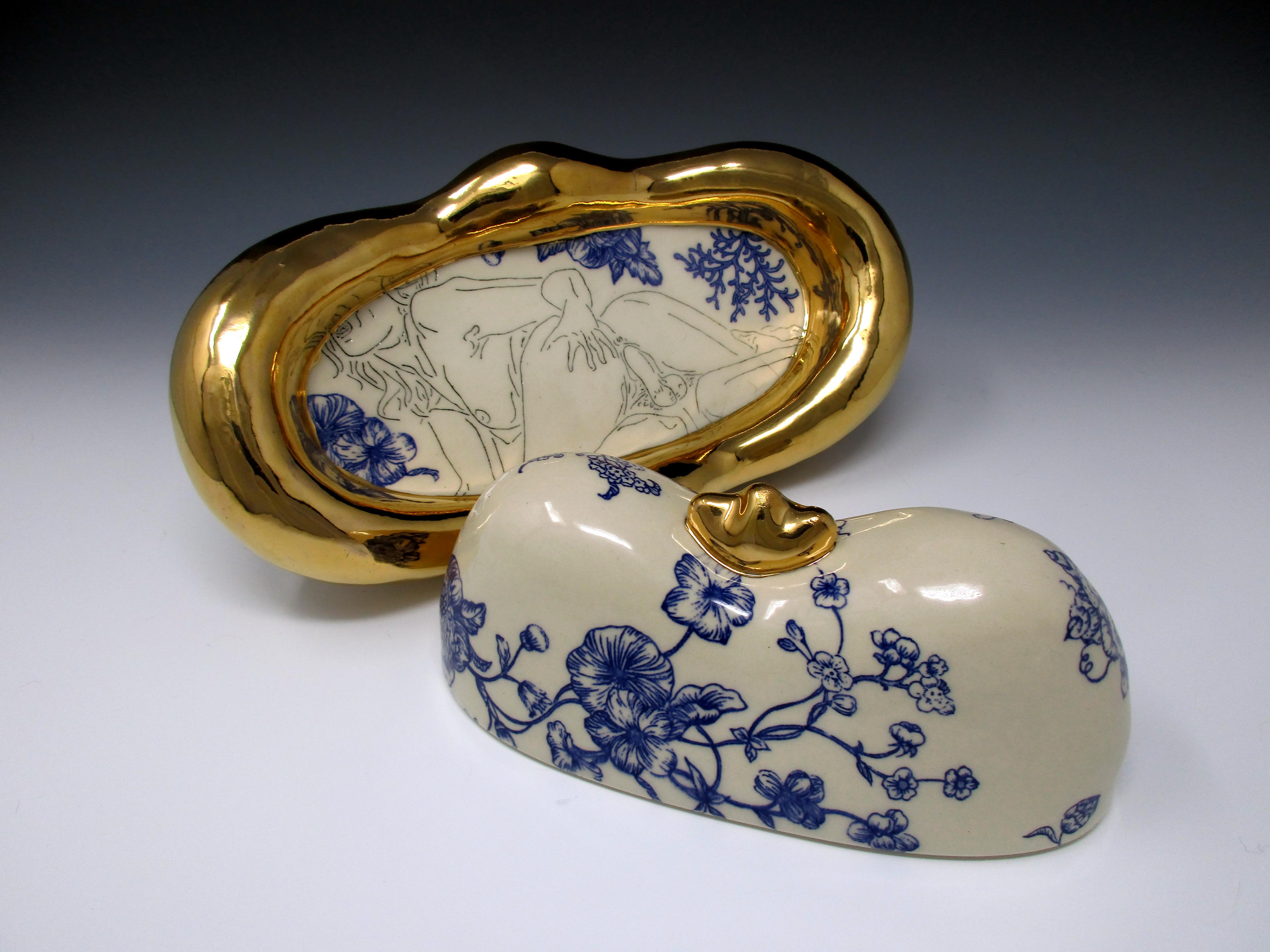 Sexpot Butter Dish (Detail)