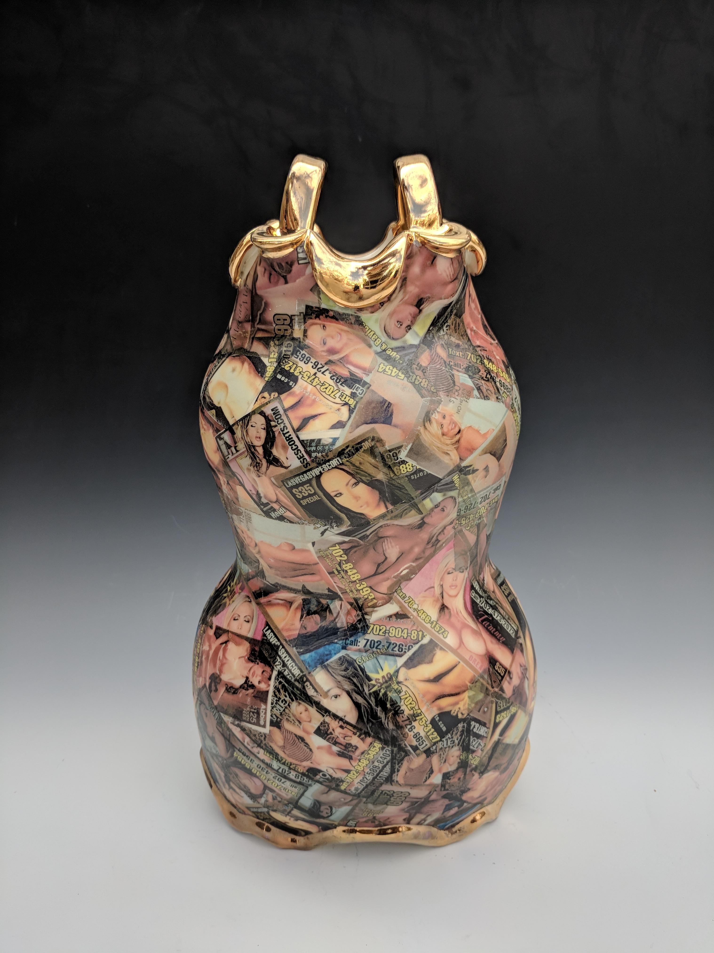 Nevada Prostitution Vase (Detail)