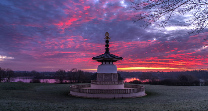 Pagoda Sunrise