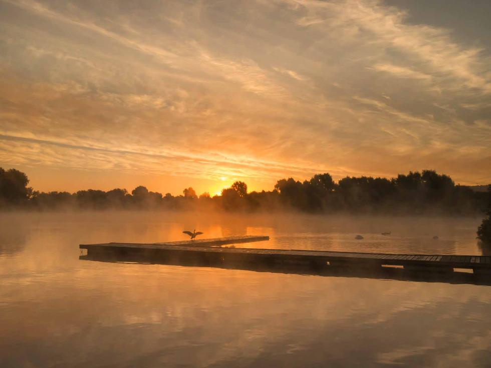 Caldecotte Lake 9