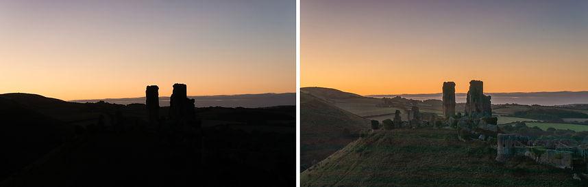 Corfe Castle comparison smaller.jpg