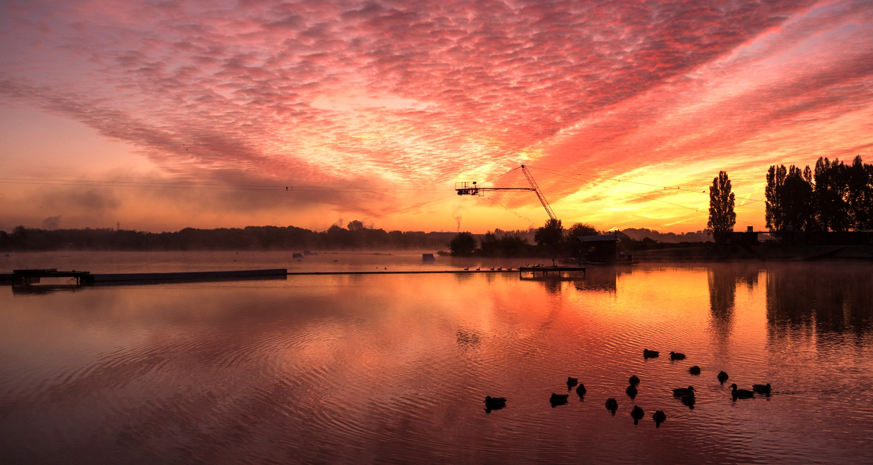 Willen Lake Sunrise