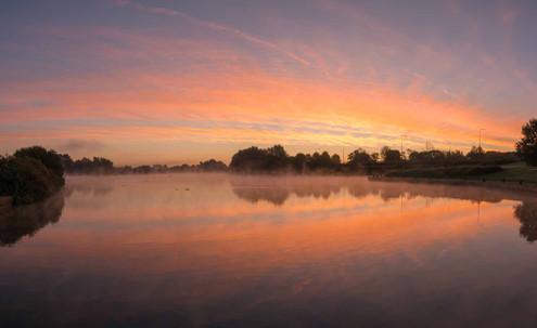 Caldecotte Lake 13