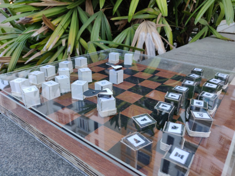 anti - theft chess.