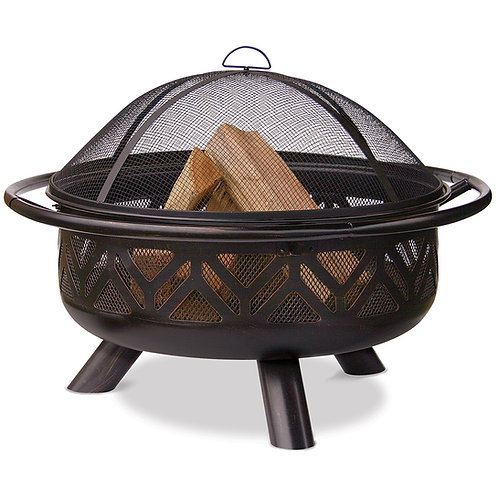 Geo Flame Fire Pit