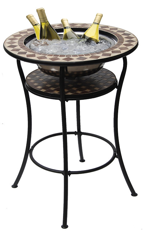 COCO CLASSICO BAR TABLE WITH ICE BASIN