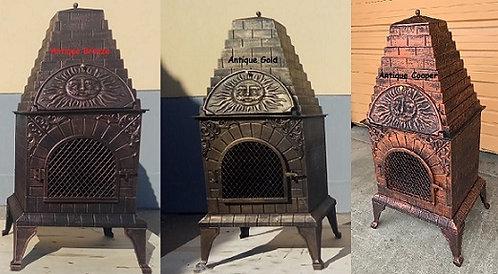 Aztec Allure Chiminea Pizza Oven - PRE-ORDER
