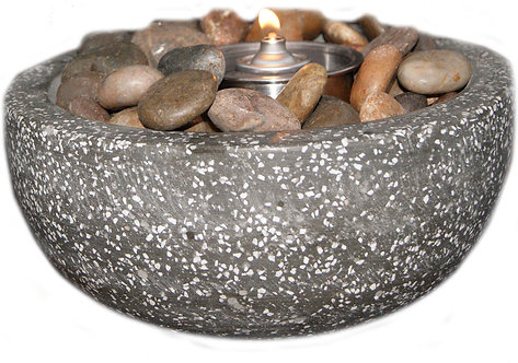Rock Stone Fire Pot