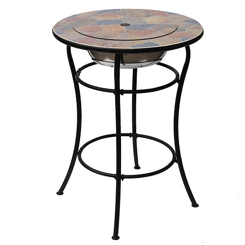 ROCK CANYON CLASSICO BAR TABLE WITH ICE BASIN