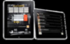 i-menus, Menu électronique sur tablette