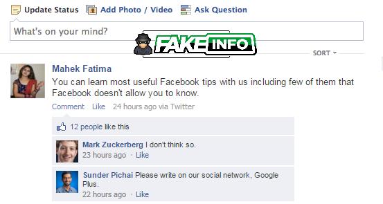 fake facebook post creator