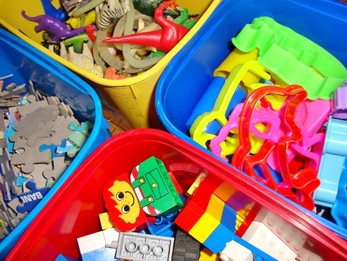 Organizando Brinquedos