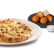 PIZZA & CARBONARA BITES