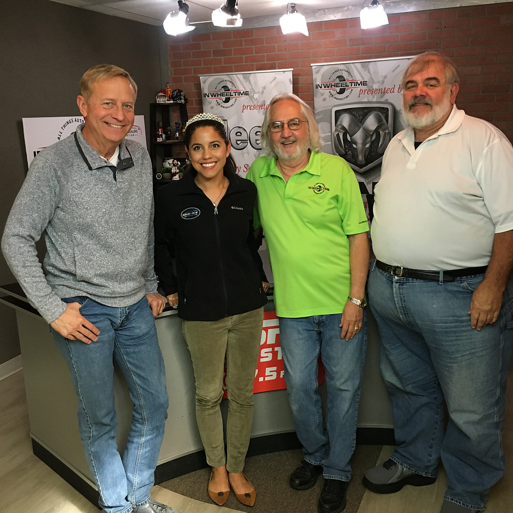 Karolena Serratos Auto Repair Shop Owner on Radio Show