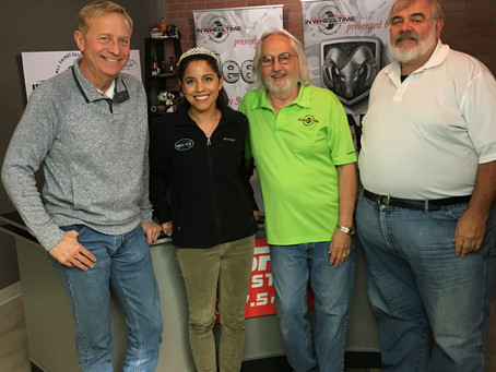 Crowned the Princess of Car Care on In Wheel Time Radio Show