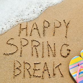 "Spring ""Brake"" Pre Road Trip List"