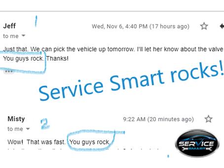 Service Smart℠ Rocks!