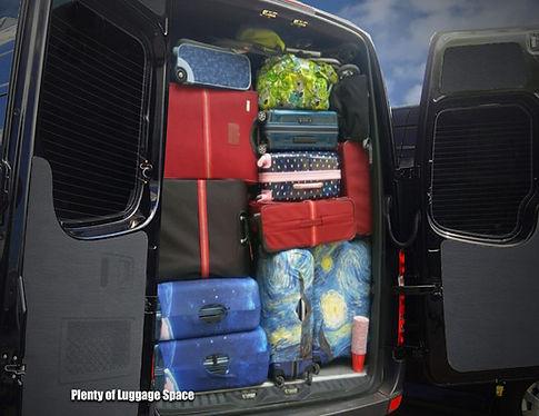 Plenty of Luggage Space