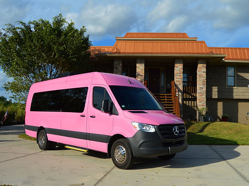 2019 Pink Sprinter Limousine