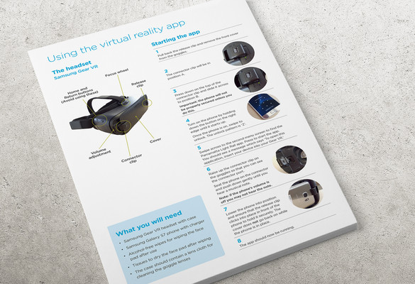 Samsung Gear VR Headset Instructions