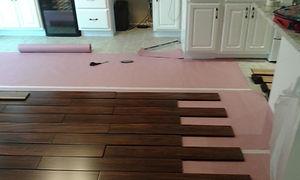 Hard Wood Floor Installatio
