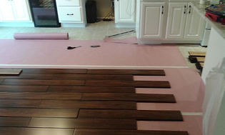 Hard Wood Floor Installatio