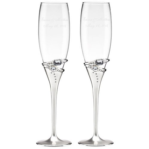 Lenox Double Ring Flutes