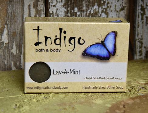 Lav-A-Mint Dead Sea Mud Facial Soap
