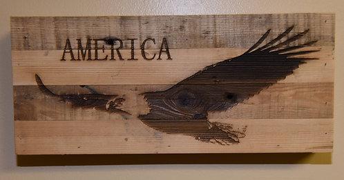 Born Again Wood Plaque