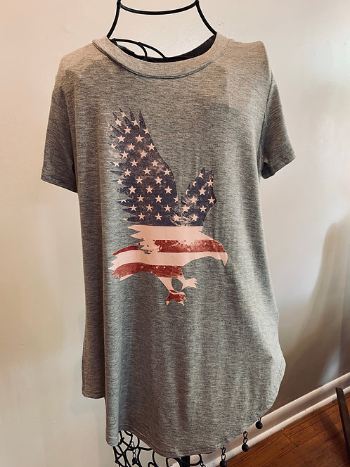 American Eagle Flag Tee