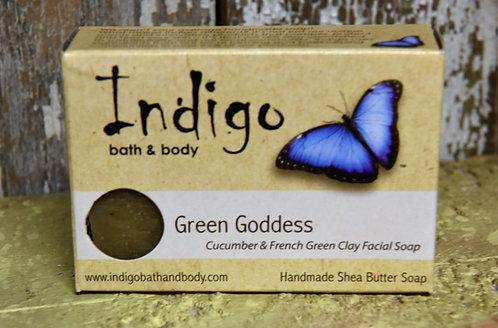 Green Goddess Facial Soap