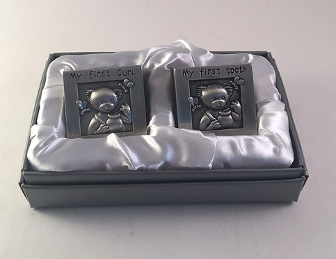 My First Tooth & Curl Keepsake Boxes