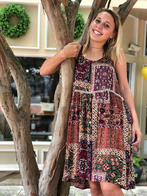 Mosaic Cami Dress