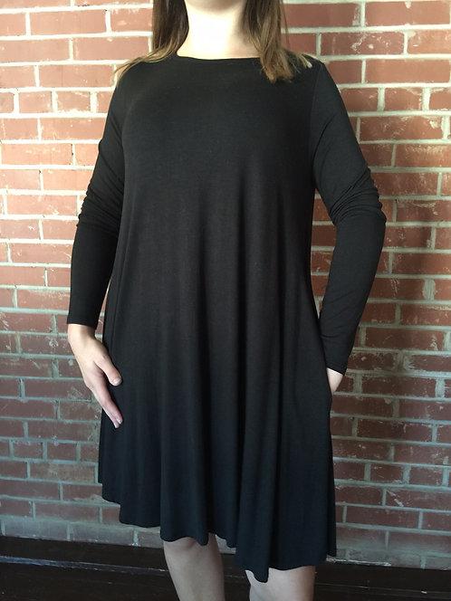 Pocket Dress Long Sleeve