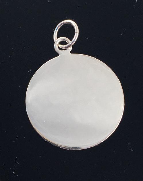 Large Circle Pendant