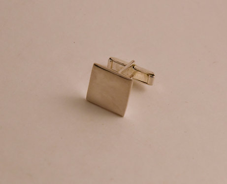 Square Stainless Cuff Link