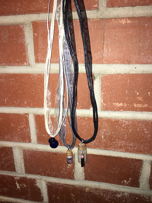 Keepsake Ribbon Necklace