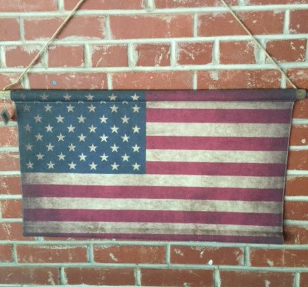 Horizontal Canvas Flag