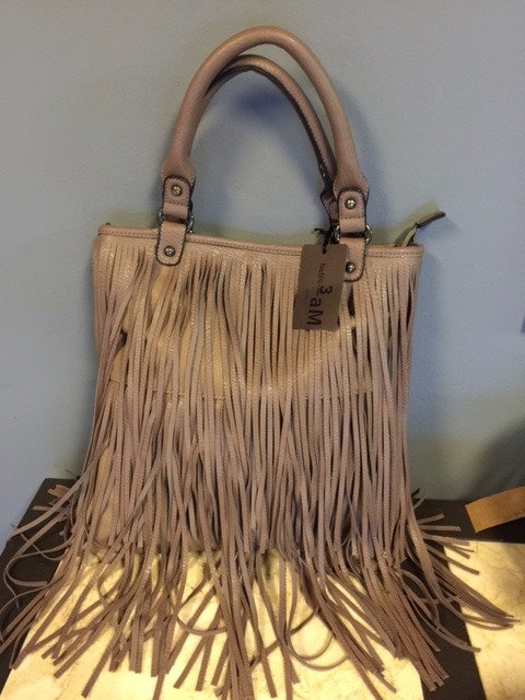 Hello 3 AM Vegan Fringe Purse