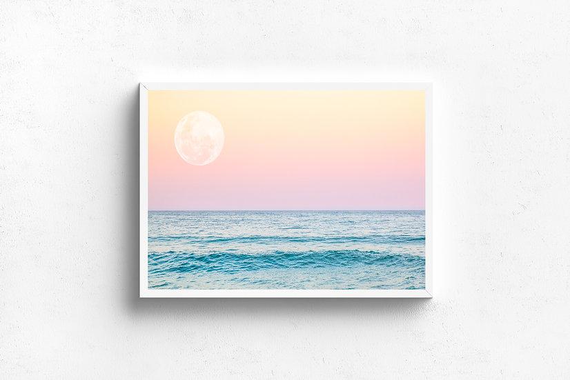 Full Moon Rising | SALE! - 30cm x 20cm