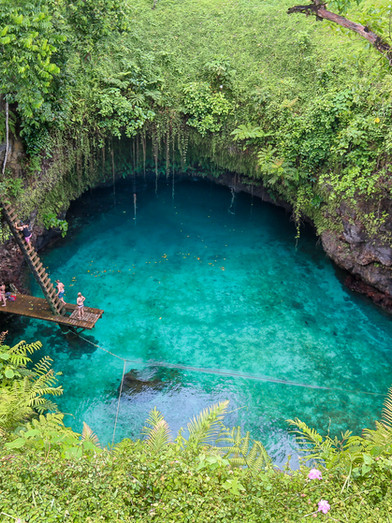 To Sua Ocean Trench, Upolu, Samoa