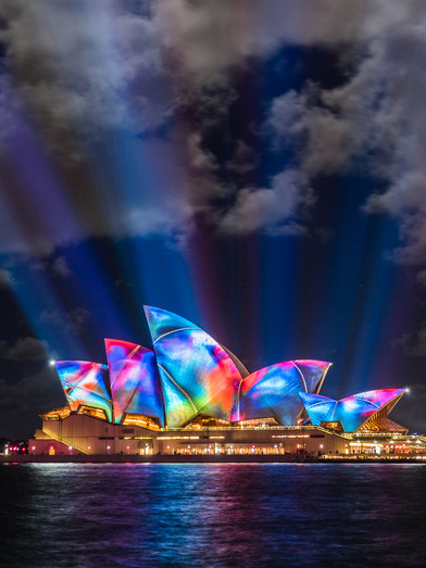Vivid Sydney with Olympus Australia |  Light, Music & Ideas Festival