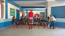 Animação da festa em escolas - RJ