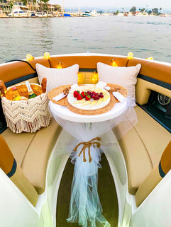 Styled Pop-Up Boat Experience