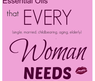 A-Z ways for using Essential Oils For Women